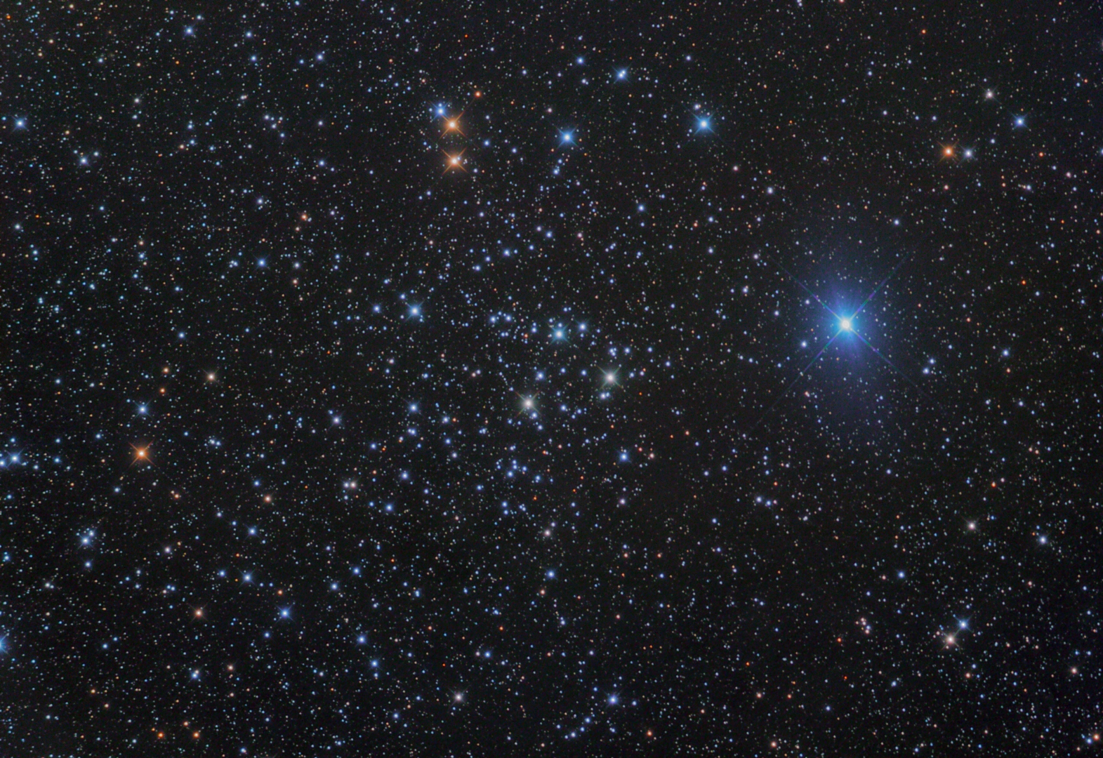 NGC 1290 Open Cluster