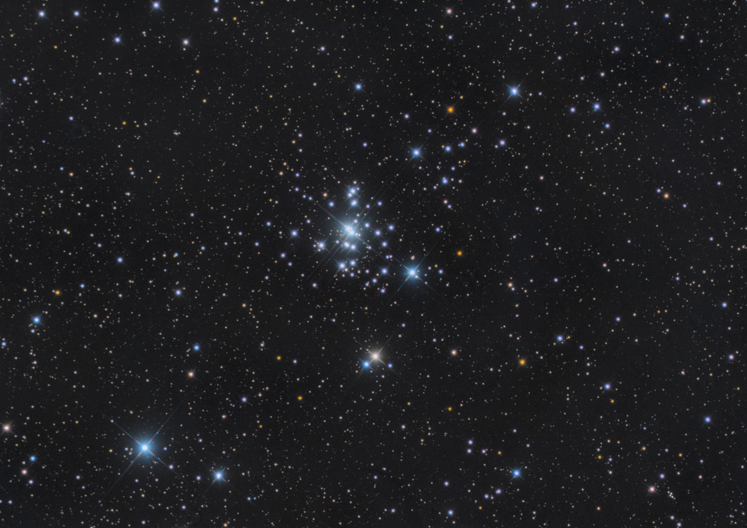 NGC 1502 Open Cluster