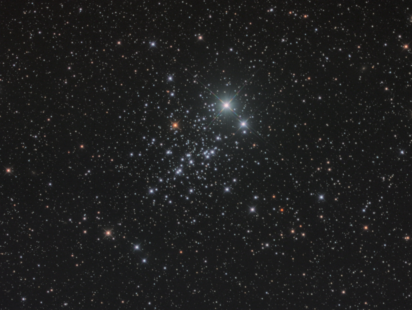 NGC 457 Star Cluster